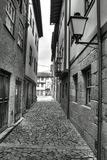 Guimaraes narrow street, Portugal Stock Photo