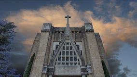 GUIMARAES, PORTOGALLO - architettura del quadrato di Toural del centro storico di Guimaraes, Portogallo Patrimonio mondiale dell' Immagini Stock Libere da Diritti