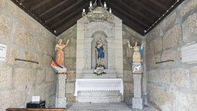 GUIMARAES, PORTUGAL - Architectuur van het Toural-vierkant van Historisch Centrum van Guimaraes, Portugal Unesco-Werelderfenis royalty-vrije stock afbeelding