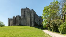 The Castle of Guimaraes royalty free stock photo