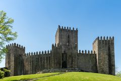 The Castle of Guimaraes Royalty Free Stock Photography