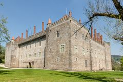 Palace of the Duques of Braganca Stock Image