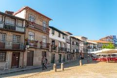 GUIMARAES, PORTUGAL - VERS EN AVRIL 2018 : Oliveira Plaza de Histor images stock