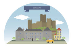 Guimaraes, Portugal Royalty Free Stock Images