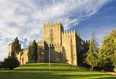 Guimaraes-Schloss stockbilder