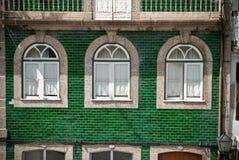 Guimaraes windows Stock Photography