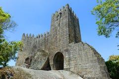 Guimarães Castle, Guimarães, Portugal Royalty Free Stock Photo