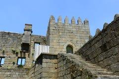Guimarães Castle, Guimarães, Portugal Royalty Free Stock Photos