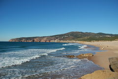 Guincho beach. Cascais, Portugal Royalty Free Stock Photos