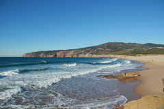 Guincho beach. Cascais, Portugal Stock Photo