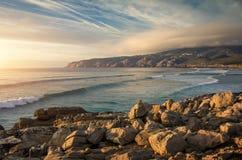 Guincho Beach royalty free stock photo