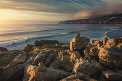 Guincho Beach stock images