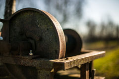 Guincho oxidado Fotografia de Stock