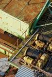 Guincho oxidado e colorido Foto de Stock