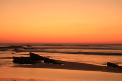 Guincho sunset Royalty Free Stock Photo