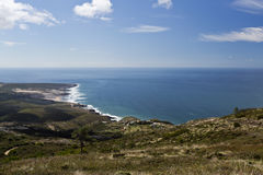 Guinco Beach from Sintra Mountain Royalty Free Stock Photo