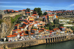 Guindais hill view in Porto Royalty Free Stock Photography