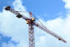 Guindaste da construção Imagem de Stock