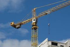 Guindaste da construção Foto de Stock