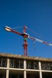 Guindaste de construção Imagem de Stock Royalty Free