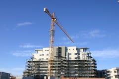 Guindaste de construção Foto de Stock Royalty Free