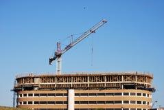 Guindaste de construção do edifício Fotos de Stock Royalty Free