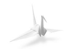 Guindaste de Origami Imagem de Stock