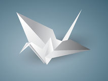 Guindaste de Origami Fotografia de Stock Royalty Free