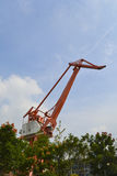 Guindaste de torre Fotografia de Stock Royalty Free