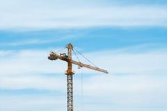 Guindaste de torre Foto de Stock Royalty Free