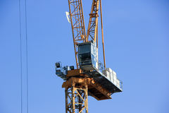 Guindaste de torre de QLCM Imagem de Stock