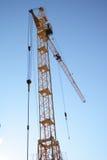 Guindaste de torre do edifício Imagens de Stock Royalty Free
