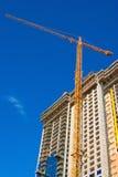 Guindaste do arranha-céus Foto de Stock