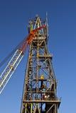 Guindaste e torre Fotografia de Stock