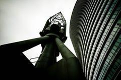 Guindaste e torre Imagem de Stock