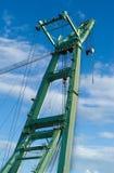 Guindaste grande no porto Fotografia de Stock Royalty Free