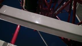 Guindaste torre-montado close-up vídeos de arquivo