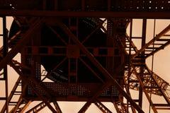 Guindaste velho do madero de Puerto Foto de Stock