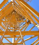 Guindastes de torre. Imagens de Stock Royalty Free
