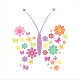 Guindineau floral Images libres de droits