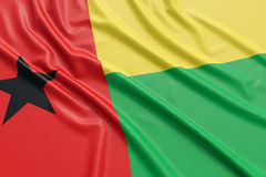 Guinea-Bissau flag Royalty Free Stock Photography