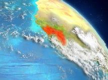 Guinea de la órbita libre illustration