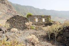 Guinea, El Hierro. Old village of Guinea, El Hierro, Spain royalty free stock image