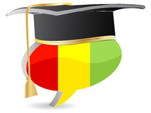 Guinea flag graduation Royalty Free Stock Photos