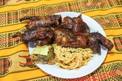 `Cuy Chactado` Guinea Pig Dish. royalty free stock image