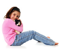 Guinea Pig Lover Stock Image