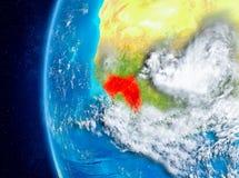 Guinea ter wereld van ruimte Royalty-vrije Stock Fotografie