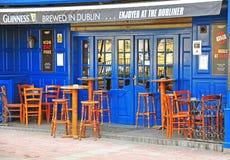 Guiness-bar in Malta Stock Foto