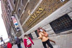 Guiness Dublin Royalty-vrije Stock Foto's