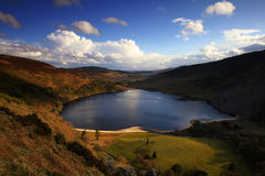 Guiness Lake. Higher view on Lough Tay, Co. Wicklow, Ireland Stock Photography
